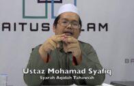 15082016 Ustaz Mohamad Syafiq : Syarah Aqidah Tahawiah
