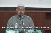 19032016 Ustaz Abdullah Bukhari Abdul Rahim : Seminar Al Quran 2.0(sesi 4)