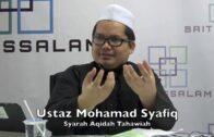19092016 Ustaz Mohamad Syafiq : Syarah Aqidah Tahawiah