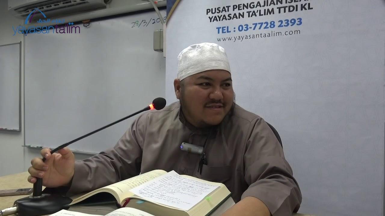 2019 03 28 Ustaz Yunus   Zadul Ma'ad