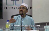 22012017 Dr Muhamad Rozaimi : Kelebihan & Kepentingan Mengamalkan Doa Yang Shahih
