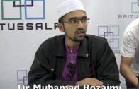23112016 Dr Muhamad Rozaimi : Syarah Al Manar Al Munif