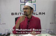 24082019 Dr Muhamad Rozaimi : Syarah Al Manar Al Munif