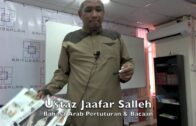 24092016 Ustaz Jaafar Salleh : Bahasa Arab Pertuturan & Bacaan