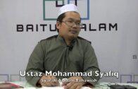 25072016 Ustaz Mohamad Syafiq : Syarah Aqidah Tahawiah