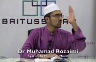 27072016 Dr Muhamad Rozaimi : Syarah Al Manar Al Munif