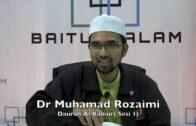 28082016 Dr Muhamad Rozaimi : Daurah Al Kabair (Sesi 1)
