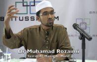 28092016 Dr Muhamad Rozaimi : Syarah Al Manar Al Munif