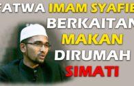 Dr. Rozaimi Ramle – Fatwa Imam Syafie Berkaitan Makan Dirumah Simati