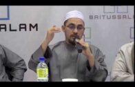 [RINGKAS] 18122016 Ustaz Abdullah Bukhari : Sikap Antara Sesama Ilmuan Jika Terdapat Kesilapan