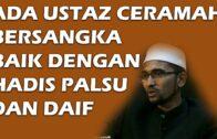 Soalan Netizen : Ada Ustaz Ceramah Bersangka Baik Dengan Hadis Palsu Dan Daif?` Dr. Rozaimi Ramle`