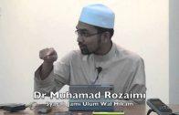 01112015 Dr Muhamad Rozaimi : Syarah Jami Ulum Wal Hikam