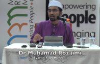 03052016 Dr Muhammad Rozaimi : Syarah Fiqh Manhaji