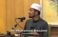 03072015 Dr Muhamad Rozaimi : Tazkirah Khas 2