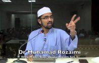 04012016 Dr Muhamad Rozaimi : Ilmu Hadis Bagi Orang Awam ( Siri 3)