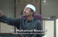 05042016 Dr Muhamad Rozaimi : Sampaikan Dariku Walau Satu Ayat