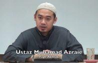 05042016 Ustaz Muhamad Azraie : Fiqh Akhlak