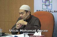 07062016 Ustaz Mohamad Azraie : Fiqh Akhlak