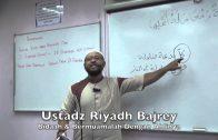 08122015 Ustadz Riyadh Bajrey : Bidaah & Bermuamalah Dengan Ahlinya