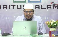 10-10-2019 Ustaz Adli Mohd Saad : Syarah Fiqh Muyassar |