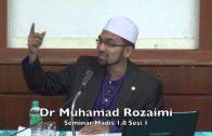13122015 Dr Muhamad Rozaimi : Seminar Hadis 1.0 Sesi 1