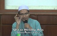 13122015 Ustaz Helimy Aris: Seminar Hadis 1.0 Sesi 4