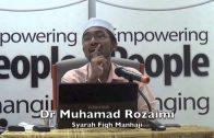 14042015 Dr Muhamad Rozaimi : Syarah Fiqh Manhaji