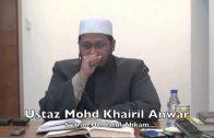 15042015 Ustaz Mohd Khairil Anwar : Syarah Umdatul Ahkam