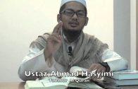15072015 Ustaz Ahmad Hasyimi : Tadabur Al Quran