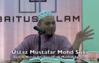 16042016 Ustaz Mustafar Mohd Suki : Syarah Matan Abi Syuja(Fiqh Mazhab Syafie)