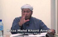 18112015 Ustaz Mohd Khairil Anwar : Syarah Umdatul Ahkam