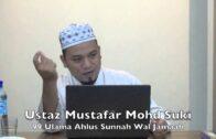 19022016 Ustaz Mustafar Mohd Suki : 99 Ulama Ahlus Sunnah Wal Jamaah