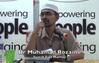 20102015 Dr Muhamad Rozaimi : Syarah Fiqh Manhaji