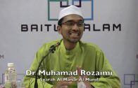 25052016 Dr Muhamad Rozaimi : Syarah Al Manar Al Munif