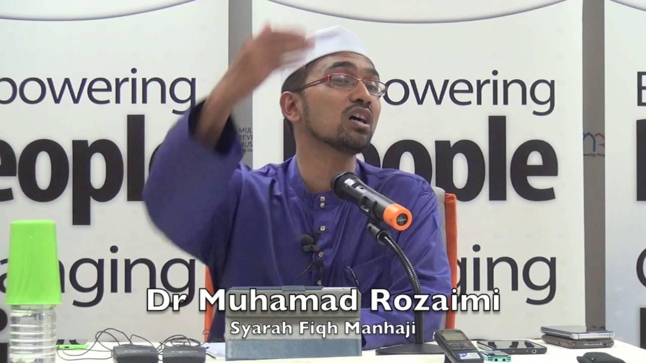 22032016 Dr Muhamad Rozaimi : Syarah Fiqh Manhaji