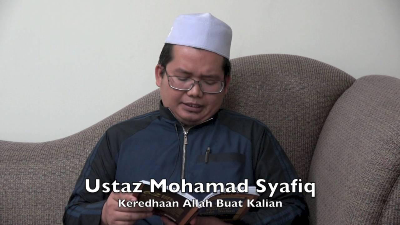 [RINGKAS]09052016 Ustaz Mohamad Syafiq : Keredhaan Allah Buat Kalian