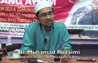 [RINGKAS]26012016 Dr Muhamad Rozaimi : Kedudukan Dosa Antara Syirik & Riba