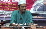 [RINGKAS]26012016 Dr Muhamad Rozaimi : Ulama Berbeza Pandangan & Bagaimana Orang Awam?