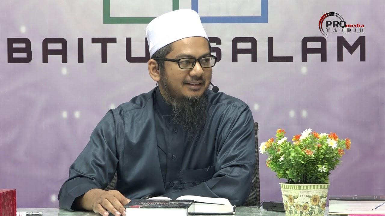 09-11-2019 Ustaz Ahmad Hasyimi : Syarah Talbis Iblis Terhadap Golongan Sufi Dalam Bertawakal