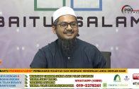 11-01-2020 Ustaz Ahmad Hasyimi : Syarah Talbis Iblis | Terhadap Golongan Sufi Yang Malas Belajar