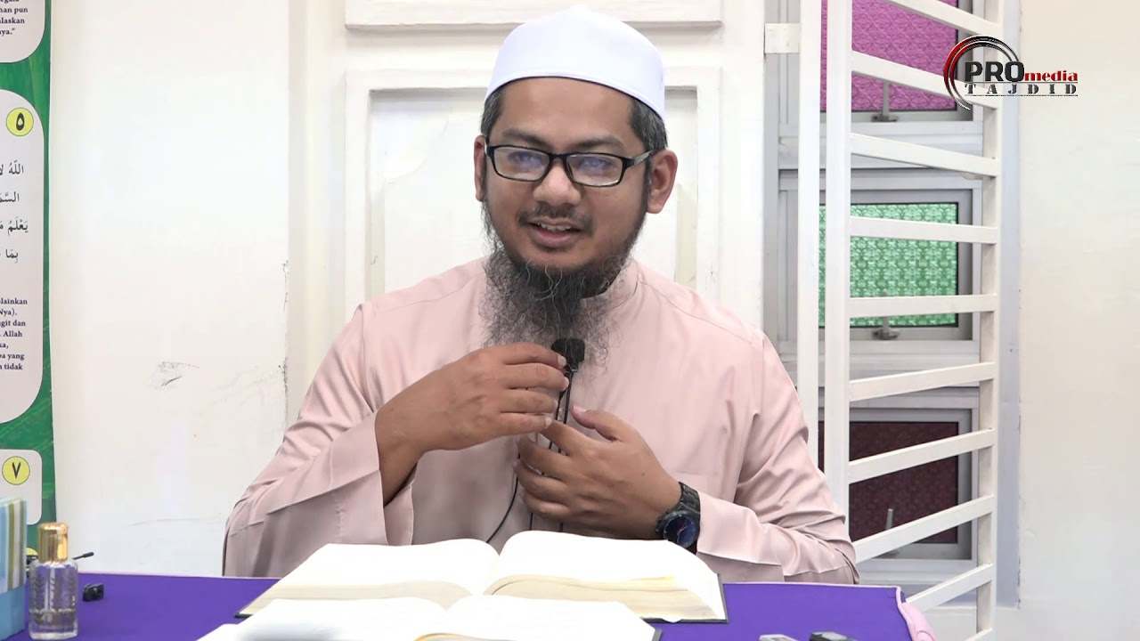 11-10-2019 Ustaz Ahmad Hasyimi : Tadabbur Surah Isra' Ayat 18
