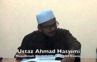 16102014 Ustaz Ahmad Hasyimi : Muqadimah Kitab Ad Daa' Wa Ad Dawaa'