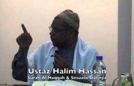 23112014 Ustaz Halim Hassan : Surah Al Haqqah & Sesuatu Darinya