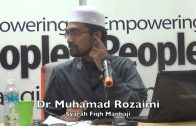 26052015 Dr Muhamad Rozaimi : Syarah Fiqh Manhaji