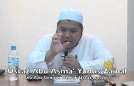 30012015 Ustaz Abu Asma' Yunus : Ada Apa Dengan Daurah Ustaz Nasaie Hanaffie?