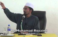 30052015 Dr Muhamad Rozaimi : Amanah Ilmu