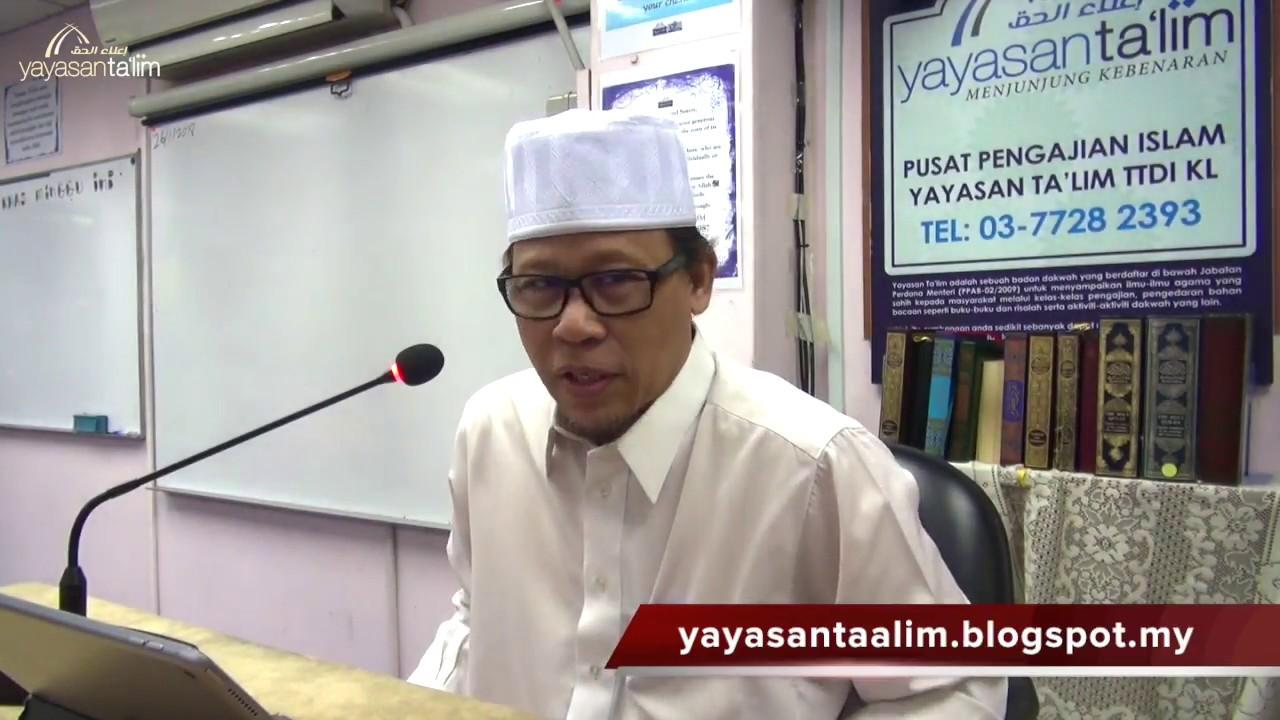 Yayasan Ta'lim: Ilmu Balaghah Al Quran [26-01-18]