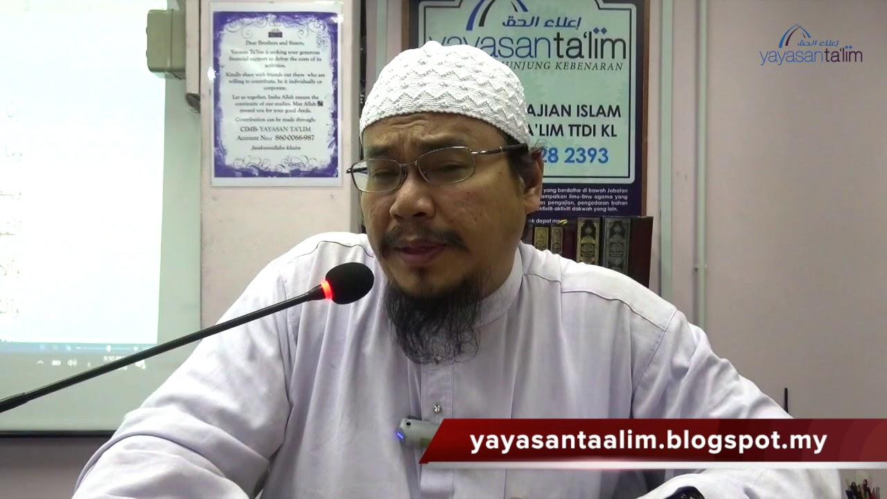 Yayasan Ta'lim: Ringkasan Tafsir Ibn Kathir [25-01-18]