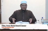 19032014Ustaz Mohd Khairil Anwar : Muqadimah Solat