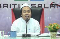 20-01-2019 Ustaz Nasaie Hanaffie : Daurah Shahih Muslim | Kitab Iman Sesi Pertama Bahagian Pertama